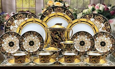 Genuine Versace Rosenthal Barocco Dinner Set For Four People • 2,999£
