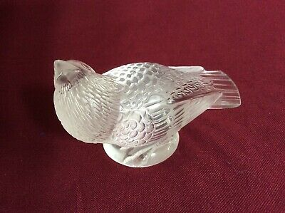 Early R.lalique Marked Bird • 345£
