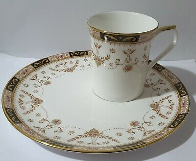 Queens Fine Bone China Olde England Cup And Plate • 9£