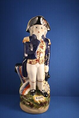 Vintage Pottery Admiral Lord Nelson Jug Figurine Staffordshire?  • 25£