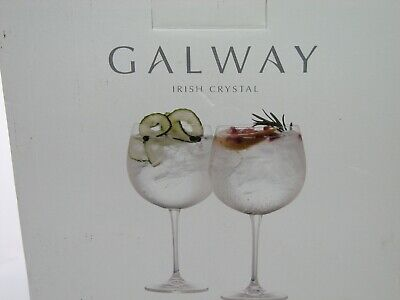 Galway Crystal Gin Glasses • 21£