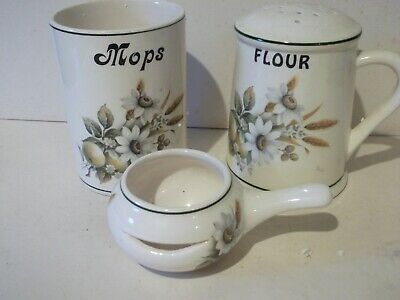 Brixham Pottery Flour Sifter, Mop Holder And Egg Separator • 12£
