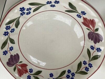 Adams Old Colonial Cereal/soup Bowls X 3 Real English Ironstone  • 19£