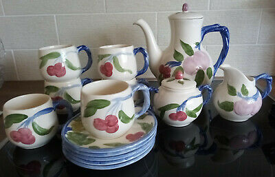 Johnson Brothers Franciscan Orchard Glade Design 14 Piece Tea/coffee Set • 34.95£