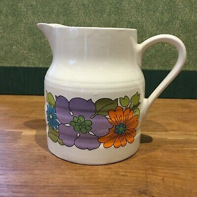Vintage Retro Jug Made By Lord Nelson Pottery, England. Great Condition. • 0.99£