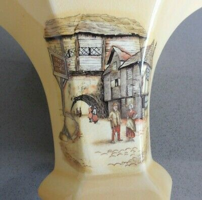 Vintage  The Jolly Drover  L & Sons Hanley Pottery Vase A/F • 5£