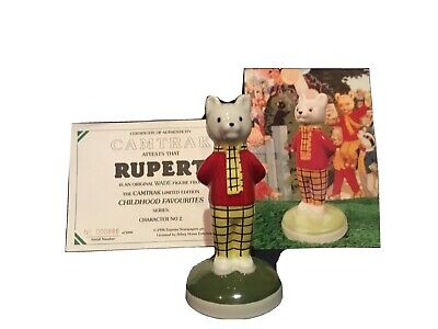 Wade Rupert. Green Base. Camtrack Character No 2. With Certificate. • 9.99£