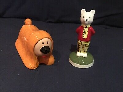 Wade Camtrak Childhood Favourites - Rupert Character No 2 And Dougal No 1 • 14.99£