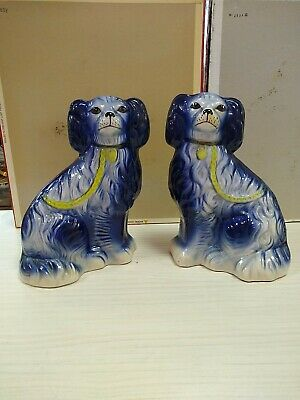 Staffordshire Dogs Pair Figures • 20£