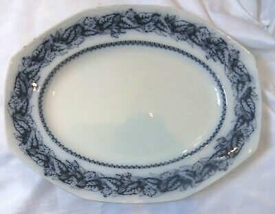 A Vintage & Very Large Hollinstead & Kirkham  Meat - Plate, Fair Cond For Age  • 7.99£