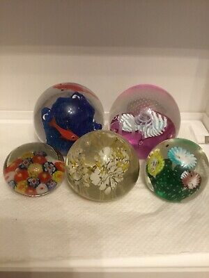 5  Paperweights • 8.99£