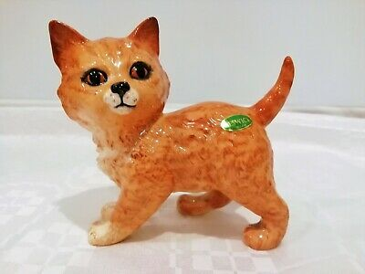 Early Beswick Persian Kitten Standing Model No.1885. Ginger Striped. 1965-1973.  • 49.99£
