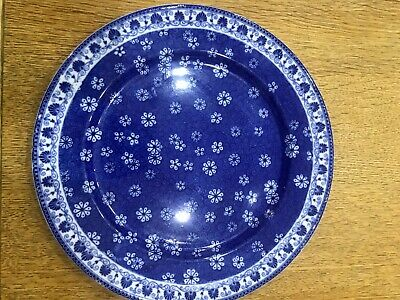 John Maddock & Sons - Blue And White Plate C1896 • 6.40£
