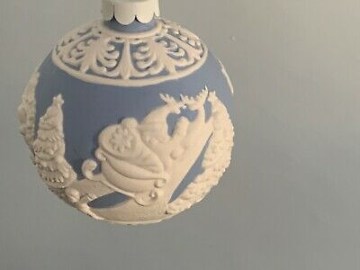 Wedgwood Jasper Christmas Bauble Never Been Displayed • 20£