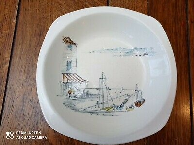 MIDWINTER RIVIERA CEREAL BOWL Drawings By HUGH CASSON 1960'S • 8.60£