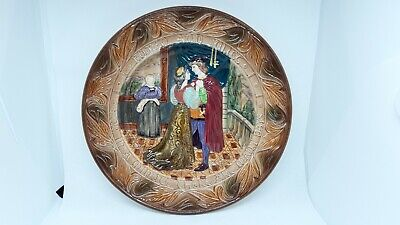 Beswick Shakespeare's 'Romeo And Juliet' Decorative Plate Excellent Condition • 7.99£