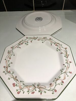 "10"" Johnson Brothers Eternal Beau Dinner Plates X 4 . • 15£"