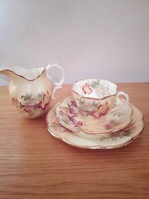Queens ChinaG. W. & Sons, England Cup, Saucer, Plate And Jug.1892 - 1928 • 7£