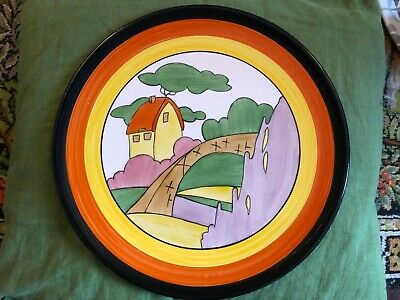 Large Clarice Cliff Plate Possibly • 29.99£