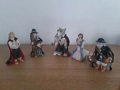 Wade Porcelain China Whimsies Beauty And The Beast  • 15£