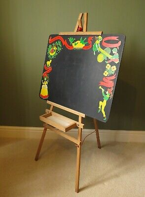 Vintage Childrens Nursery Rhyme Chalk Board. • 35£