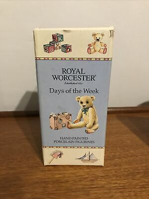 Royal Worcester Days Of The Week- Saturdays Child • 8.50£