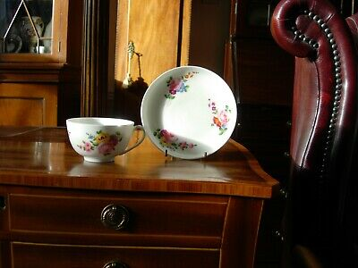 Excellent Nantgarw London Decorated Tea Cup And Saucer • 160£