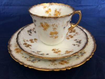 Good Antique Redford & Drakeford Bone China Hand Painted Cup Saucer & Plate. #1. • 9.99£