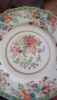 Grindley Tunstall Floral Plate . • 10£