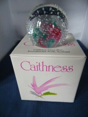 Caithness Glass Paperweight Reflections Boxed • 8.95£