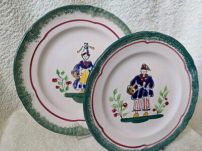 French Le Havre MBFA Cabourg Quimper Plates • 9.95£