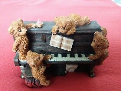 Teddy Bears At The Piano Ornament. Either Metal Or Resin Based. Heavy. VGC • 10£