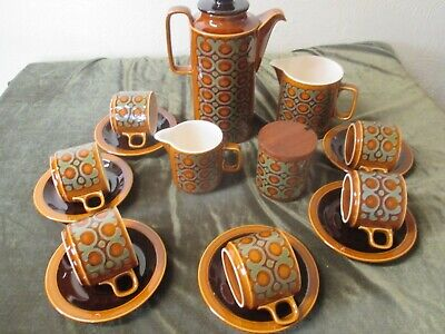 Fine Selection Of Hornsea Pottery Tableware 'bronte' John Clappison 1970 Design • 5£