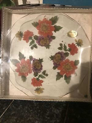 Vintage Retro CHANCE Pilkington Glass Ware BOXED  Made In England • 8£