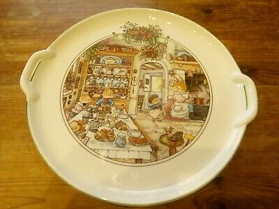 Rare And Collectable Villeroy & Boch Foxwood Tales Large Serving Dish/ Plate • 79£