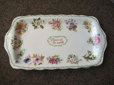 Queens Flower Of The Month Sandwich Tray • 16.99£