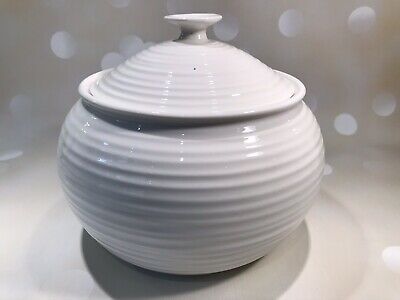 SOPHIE CONRAN For PORTMEIRION White Large Casserole Dish With Lid - Never Used • 14.25£