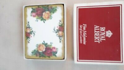 Royal Albert Old Country Roses 6 X Coasters.  Boxed. Good Cond. • 20£
