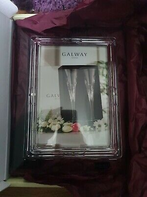Galway Crystal Congratulations Frame 5x7 • 11.10£