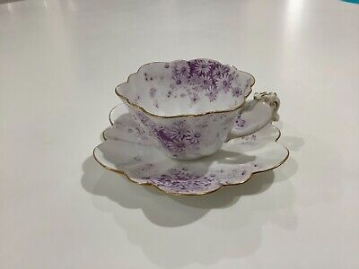 The Foley China Beautiful Small Tea Cup And Saucer • 6.50£