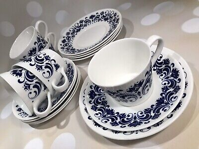Royal Tuscan  Majorca  Wedgwood Group - Fine China - 5 Cups, Saucers & Plates • 15£