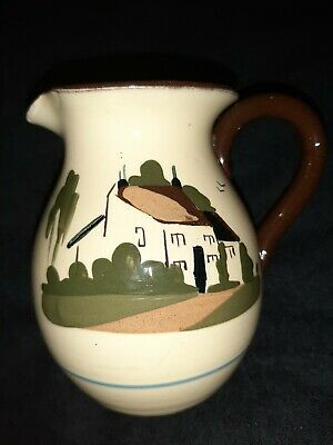 Torquay Pottery Motto Ware  Do What You Can Being What You Are  13cm Jug  • 15£