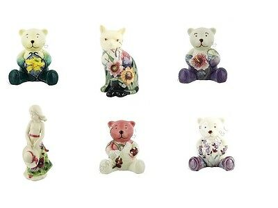 Old Tupton Ware Figures -  Girl Figures - Cats - Various Patterns - New & Boxed • 24£