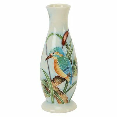 Old Tupton Ware British Birds Kingfisher Vase 6  TW7961 • 29.99£