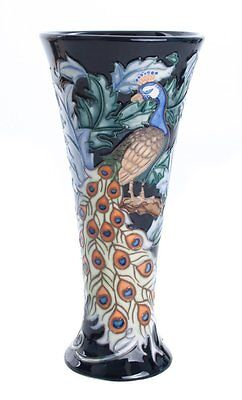 Old Tupton Ware Peacock Design Vase 8  TW1903 • 39.99£