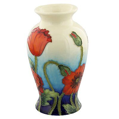 Old Tupton Ware Poppy Design Vase 6  TW7990 • 18.99£