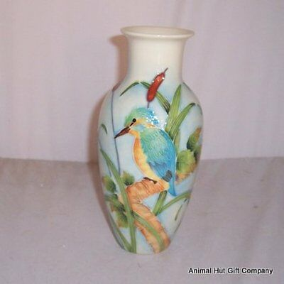 Old Tupton Ware British Birds Kingfisher Vase 8  TW7959 • 35.99£