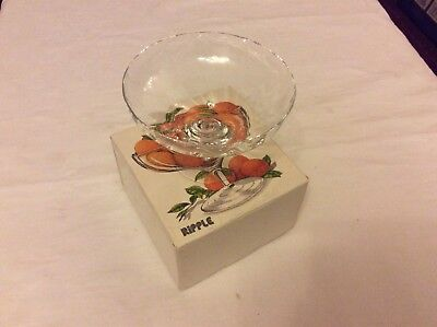 "Dartington Crystal ""Comport"" Pot Pourri Compote Sweets Stemmed  Bowl Boxed • 20£"