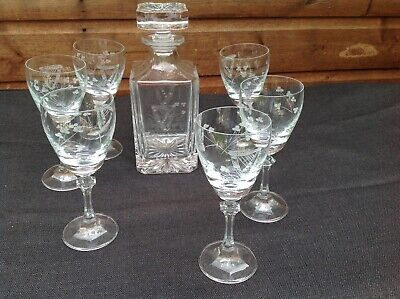 Crystal Decanter Made By Duiske Ireland  • 38£