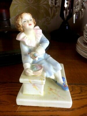 Rare Plant Tuscan China 'Bubble's' Boy Figurine 'Potted By Plant'  • 89£